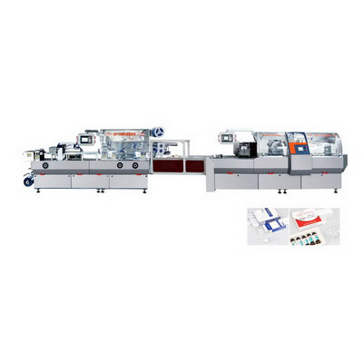 DPP-360/ZHJ-160E Plate Type Blister and Cartoning Production Line
