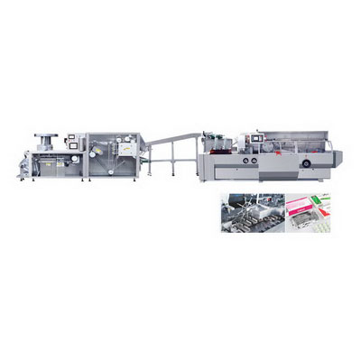 DPH-260/ZHJ-260D Roller Plate Blister and Cartoning Production Line