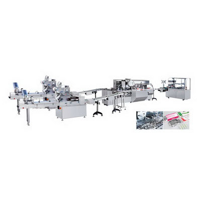 GZB-260/ZHJ-260D/TMP-300 Horizontal Pillow Packing-Cartoning and 3-Dimension Production Line